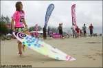 LADIES AT DURANBAH FOR START OF ROXY PRO