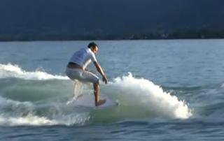Extremity Freeride Session : Surfing on the Lake : King Of The Lake