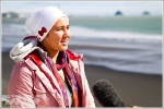 Gale Force Winds Blow Off Competition on Day 1 of the Subaru Pro TSB Bank Women's Surf Festival